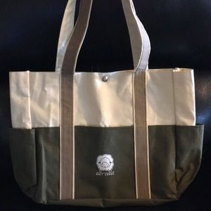 Knit Happy Canvas Tote